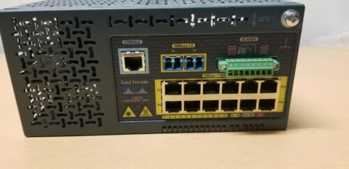 Cisco 2955 12 Port Industrial Ethernet Switch 2 Port With Fiber WS-C2955S-12