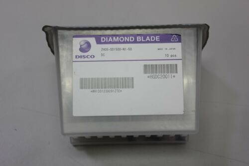 10 New Factory Sealed Disco Wafer Diamond Blades ZH05-SD1500-N1-50