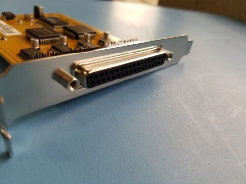 EXSYS 4x SERIAL & 1x PARALLEL MULTI I/O PCI CARD EX-41094 REV.B