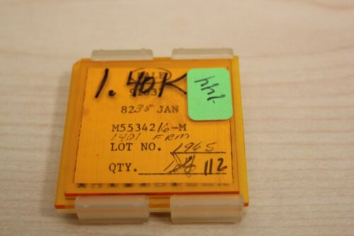 112 New Vishay/Dale Mil Spec Chip Resistors JAN M55342 1.40K