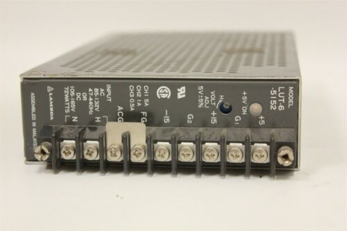 ADJUSTABLE LAMBDA LUT-6 5V+ POWER SUPPLY 5A/1A/.5A