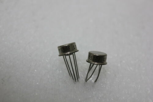2 NATIONAL LM158AH LM158 OP AMP METAL CAN (S1-3-27A)