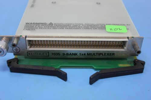 Keithley 7035 9-Bank 1x4 Multiplexer for 7001 & 7002 Switch System