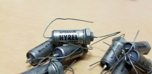 13 Unused Sprague Hyrel PIO Capacitors .0027 600VDC Tube Amp