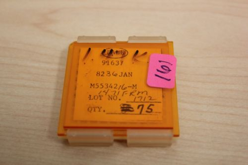 75 New Vishay/Dale Mil Spec Chip Resistors JAN M55342 1.47K