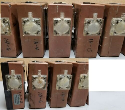 Lot of 7 SKC Aircheck Sampling Sampler Pumps