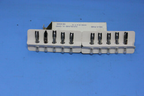 10 General Electric GE 24X Miniature Lamps Indicators