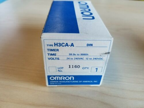 New Omron Timer H3CA-A