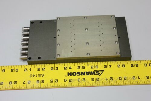 "7 3/4"" x 3 3/4"" Vacuum Chuck Plate Table for Robotics Wafer Semiconductor"