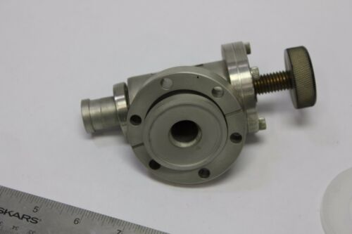 Huntington EV-073 High Vacuum Manual Right Angle Valve