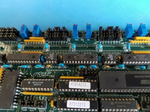 Real Time Devices RTD DA810 DAQ Data Acquisition & Control System ISA Board Card