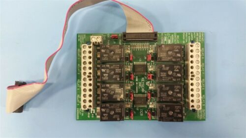 KEYSCAN OCB8 RELAY OUPUT CONTROL BOARD WITH RIBBON CABLE