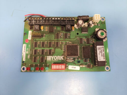 York 031-02039-005 Chiller Micro Gateway Circuit Board