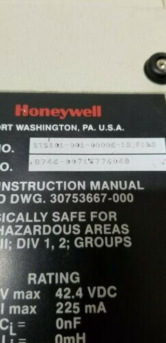 Honeywell Smart Field Communicator Meter Transmitter Controller STS101
