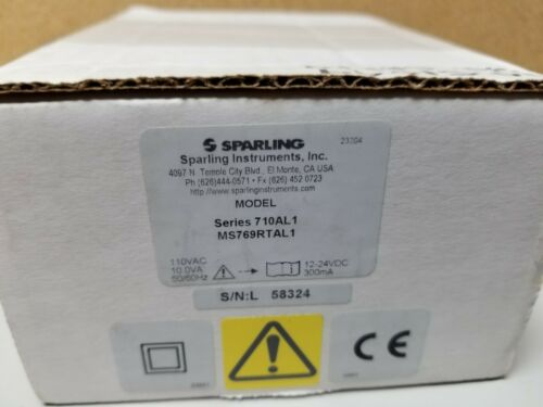 New Sparling Instruments Rate Meter Ratemeter Totalizer 710AL1