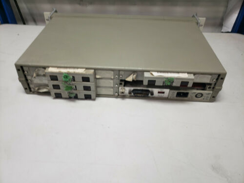 Hewlett Packard HP 3488A Switch/Control Unit With 4 44474A Cards