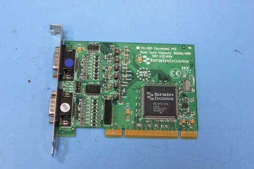 Brainboxes UC-310 Dual Opto Velocity RS422-485 Universal PCI Serial Card UC-310B