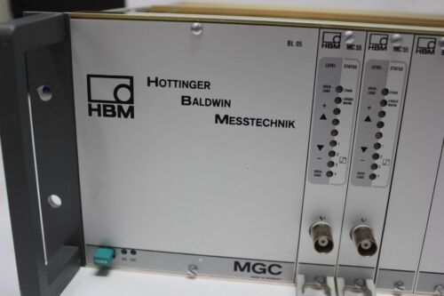 Hottinger Baldwin Messtechnik MGC Data Acquisition Rack System DAQ