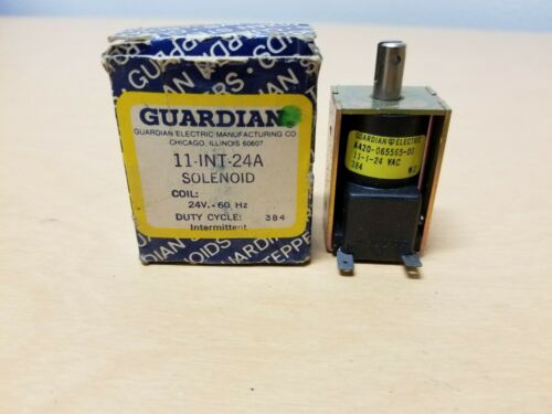Guardian 11-INT-24A Solenoid 24V 60hz Coil Intermittent Duty Cycle 384 11-I-24