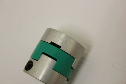 (2) NBK MOS-25C Flexible Oldham Coupling 6.35 mm