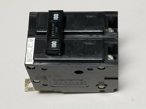 New Eaton 100A Bolt in Circuit Breaker BAB2100