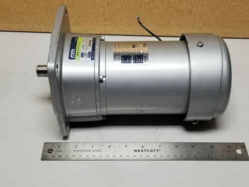 Unused Nissei Induction Motor With 1:20 Gearhead G3FB-18-20-010