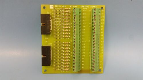 ADVANTECH WIRING TERMINAL BOARD PCLD-780 REV.B