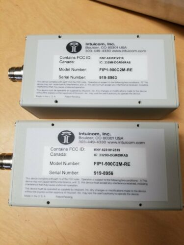 2 New Intuicom Wireless Ethernet Bridge Units FIP-1900C2M-RE
