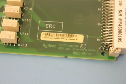 Keysight Agilent 48 Channel High Density Load Card N9379A E6170-26506