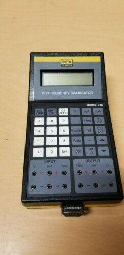 Beta DC Frequency Calibrator Model 130 With AC Charger
