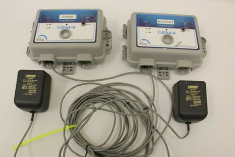 (2) Critical Environment Technologies Gem-ii Multi-purpose Gas Detectors