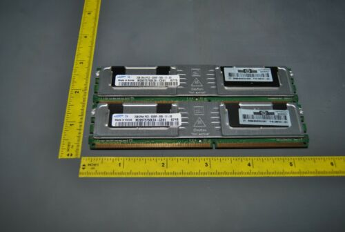 4GB (2X2GB) PC2-5300 DDR2 ECC REGISTERED MEMORY/RAM SAMSUNG /HP (S7-6-24C)
