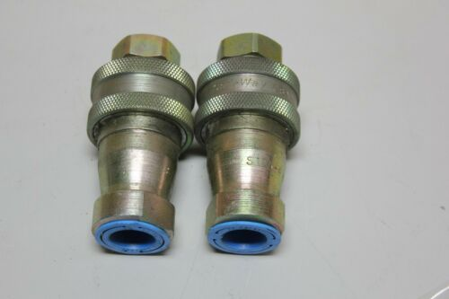 (2) Safeway S105-4 Hydraulic Coupler 4000 PSI Max