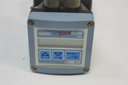 Burkert Easy Flow 8045 Insertion Magnetic Flowmeter