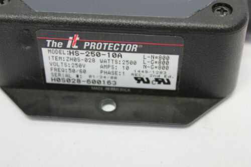 Innovative Technology IT Protector HS-250-10A Multi Stage Surge Suppressor