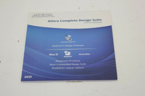 Altera Complete Design Suite Version 10.0 Windows Quartus II Software