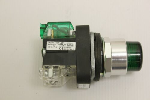 Allen Bradley 800T C -QBH24GD1 24v Green Push Button