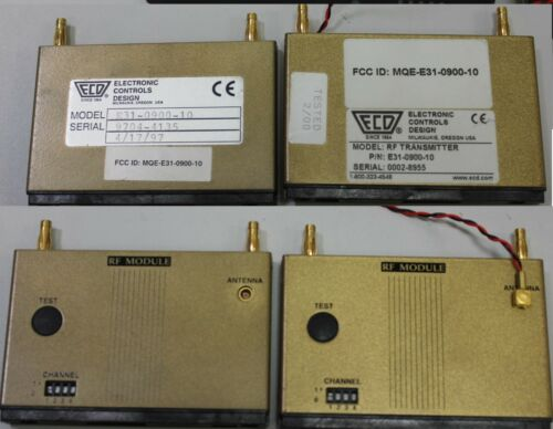 ECD Super MOLE Gold Thermal Profiler With RF Modules, Parts & Accessories