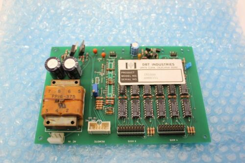 Dbt 2 Axis Control Board Tm100h