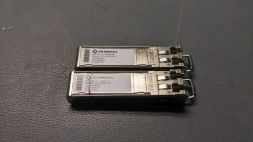 LOT OF 2 JDSU 4Gb SFP Optical Transceiver JSM-42S4AA1 64P0271