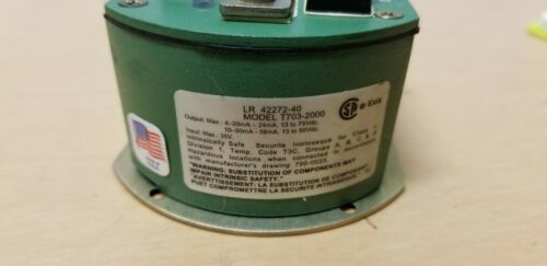 Action DC Input Isolating Field Configurable Two-Wire Transmitter T703-2000
