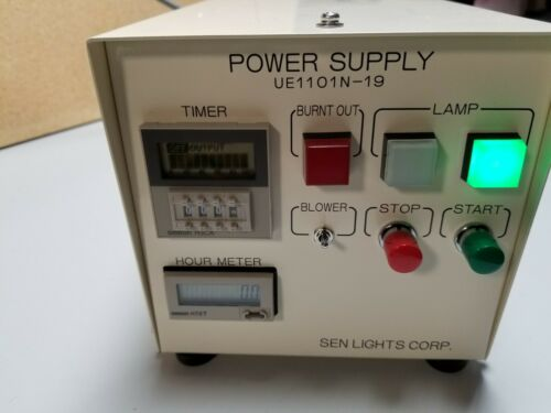 New SEN Lights UV/Ozone Photo Surface Processor UV Power Supply UE1101N-19