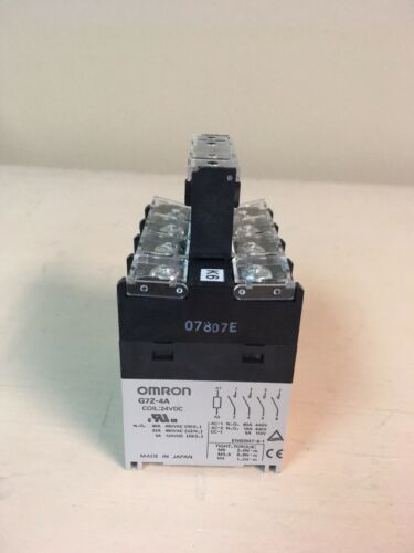 Omron G7Z-4A Power Relay 24VDC Coil