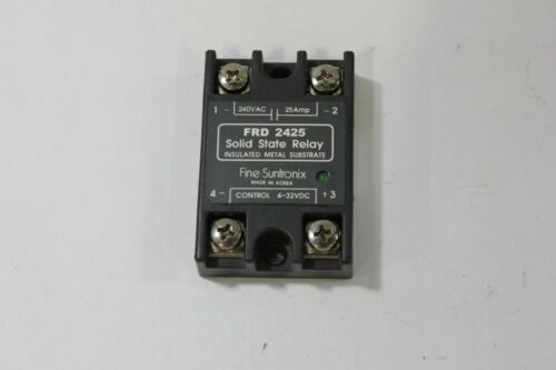 Fine Suntronix FRD 2425 FRD2425 Solid State Relay 240vac/25a 4-32vdc