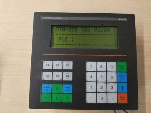 Mitsubishi PLC Operator Interface Panel HMI MTA-250