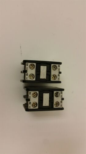 2 GE CONTACTOR AUXILIARY CONTACT CR7XR11