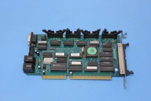 American MSI System 3 I/F ISA Interface Card Rev. 2