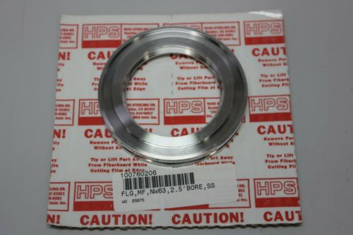 "MKS 304 Stainless Steel ISO Universal Weld Flange NW63 2.5"" Bore 100760206"