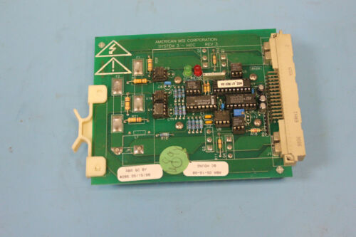 American Msi Corporation System 3-HCC Rev 3 Board HCC-240-15 3000.020.085