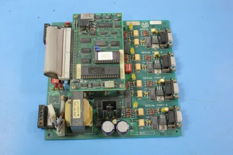 Allen Bradley 144956 rv.01 PCB & Daughter PLC Board